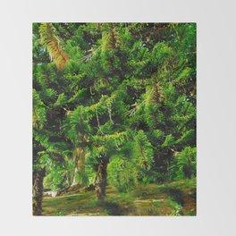 Magic of Trees Throw Blanket