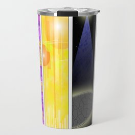 Abstract Music Travel Mug