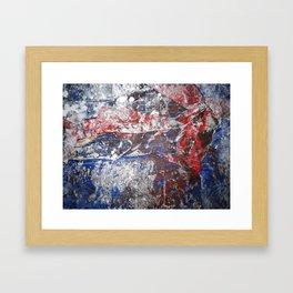 SupermanAbstract Framed Art Print