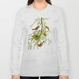 Orchard Oriole Bird Long Sleeve T-shirt