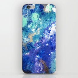 Muscida I - Abstract Costellation Painting iPhone Skin