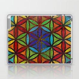 The Flower of Life (Sacred Geometry) 3 Laptop & iPad Skin