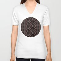 dna V-neck T-shirts featuring DNA by Vigus