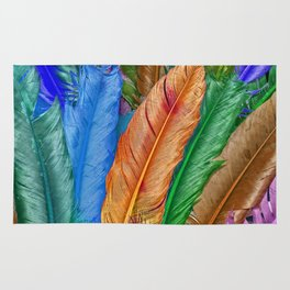 Feather of Colors Rug