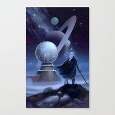 The Temple at the End of Time Canvas Print