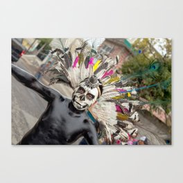 The dead can dance anywhere Canvas Print