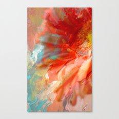 Daisy - Digital Flower Canvas Print