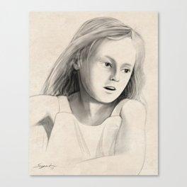 Portrait of Carli Canvas Print