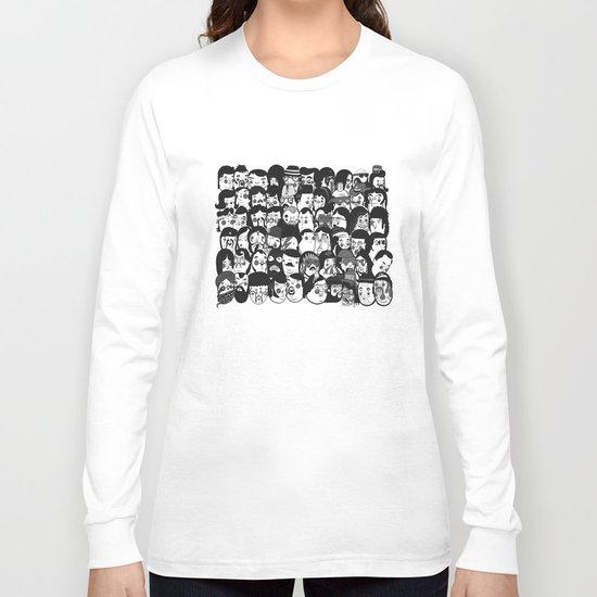 Cardiff Skateboard Club Print Long Sleeve T-shirt