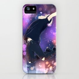 happy jm iPhone Case