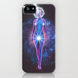 Starry Sky Emoji & Diamond Emoji iPhone Case