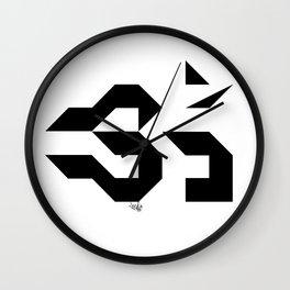 OM - Sweet Vibrations Wall Clock