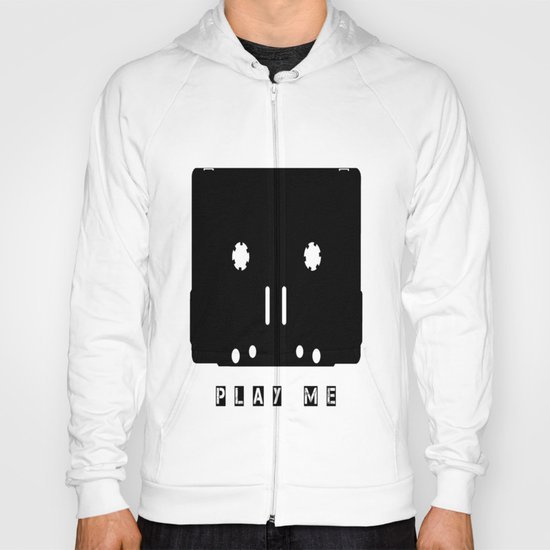 Cassette Tape Play Me Hoody