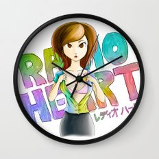 Radioheart Wall Clock