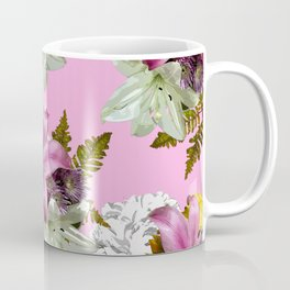 PINK LILY WHITE LILY SPRING TIME DELIGHT Coffee Mug