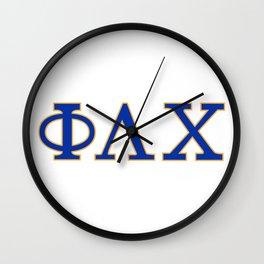 Phi Lambda Chi letters Wall Clock