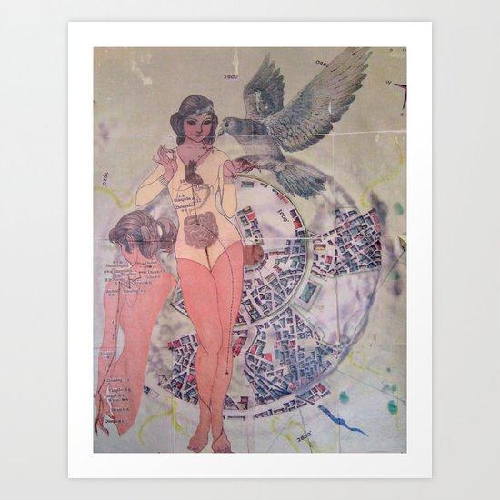 The Origins / Progression Art Print
