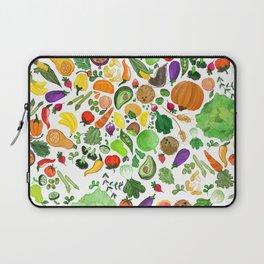 Fruit and Veg Pattern Laptop Sleeve