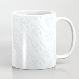 HANDS. Freedom escapes when you try to retain it Coffee Mug
