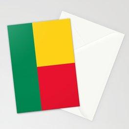 Benin Flag Stationery Cards