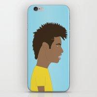 neymar iPhone & iPod Skins featuring Neymar by Georgian-Sorin Maxim