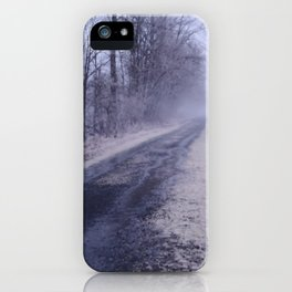 The Straight and Narrow iPhone Case