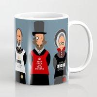 literature Mugs featuring Victorian Literature - Bronte by Natallia Pavaliayeva