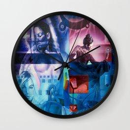 Sleight of Hand Wall Clock
