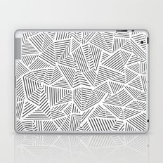Abstraction Linear Inverted Laptop & iPad Skin