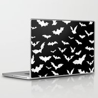 bats Laptop & iPad Skins featuring Bats by PunkRockPlanet
