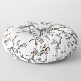 sakura pattern Floor Pillow