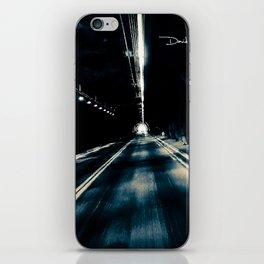 Tunnel Vision (Black & White) iPhone Skin
