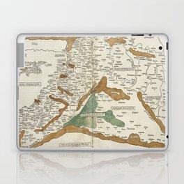 Vintage Map of Mesopotamia (1482) Laptop & iPad Skin