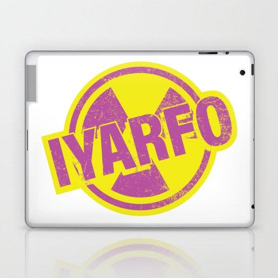 IYARFO Magenta Laptop & iPad Skin