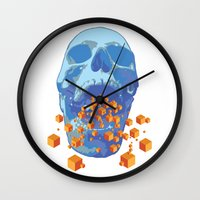 psychology Wall Clocks featuring Reverse Psychology  by Rhysher Park