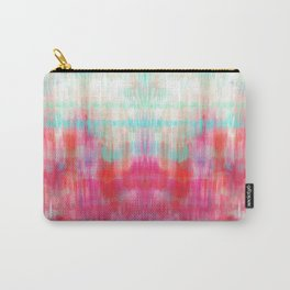 Color Song - abstract in pink, coral, mint, aqua Carry-All Pouch