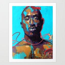 KingPac Art Print