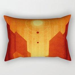 Mars - Valles Marineris Rectangular Pillow
