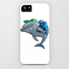 Dolphin Back to School Kids Pre-School Elementary iPhone Case