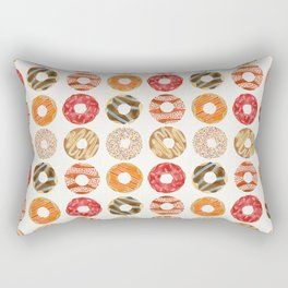 Half Dozen Donuts Rectangular Pillow