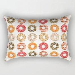 Half Dozen Donuts Rectangular Pillow