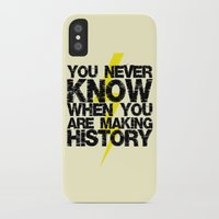history iPhone & iPod Cases featuring HISTORY by Silvio Ledbetter