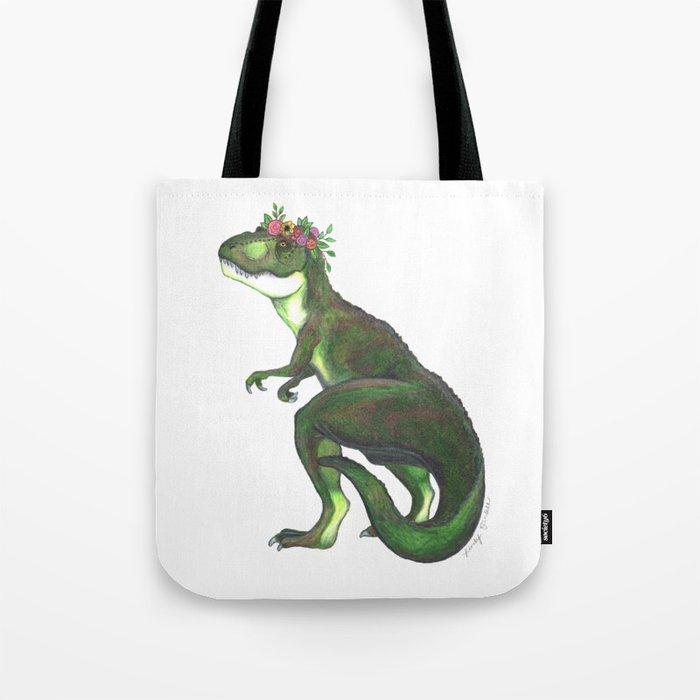 Pretty T-Rex Tote Bag