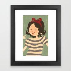 Stripes #1 Framed Art Print