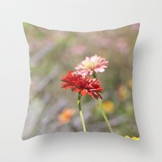 Gerbers Throw Pillow