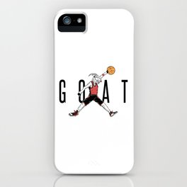 The G.O.A.T. iPhone Case