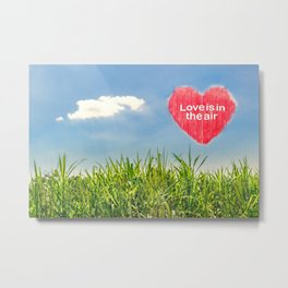 Love Concept Poster Metal Print