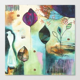 """Abundance"" Original Painting by Flora Bowley  Canvas Print"