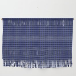 Peacock Blues Pattern Wall Hanging