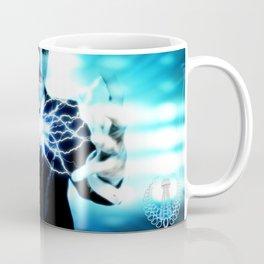 Nikola Tesla Lightning Coffee Mug